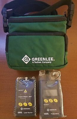 Greenlee 5680-Fc Single-Mode Fiber Optic Test Set