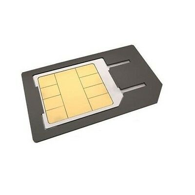Micro Sim  Adapter Converter For Mobile Phone Black