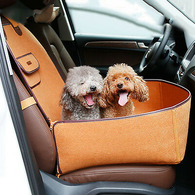 2 In 1 Pet Car Seat Cover Protector Dog Puppy Travel Auto Carrier Bag Blanket