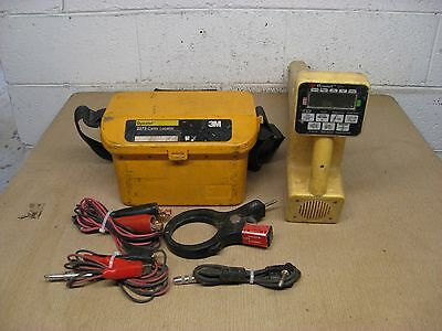 3M Dynatel 2273 Pipe Cable Fault Locator Transmitter Receiver Cables Set Used