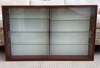 Display Cabinet Wall Mounted Ideal For 1/32 Toy Soldiers, Cars, Trains Etc