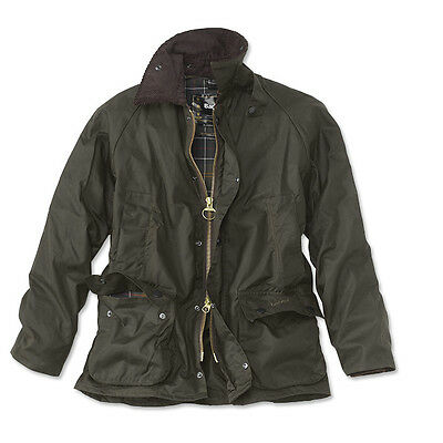 Barbour Classic Beaufort Wax Jacket - Size 38/40/42 (S/M/L) - Olive - NWT $399