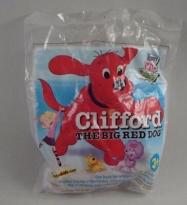 Wendys Kids Meal Toy Clifford the Big Red Dog Cleo New