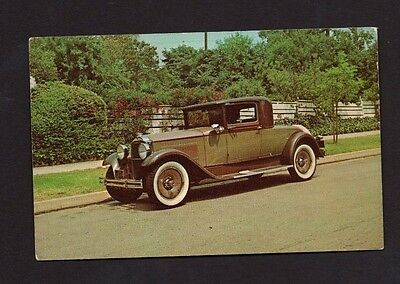 Postcard 1931 Packard Coupe *1961