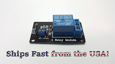 5V 1/2/4/8 Channel Relay Board Module Optocoupler LED for Arduino PiC ARM AVR