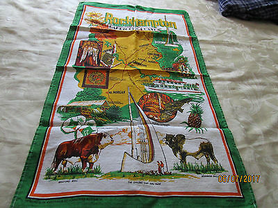 Tea Towel - Rockhampton & Capricorn Coast