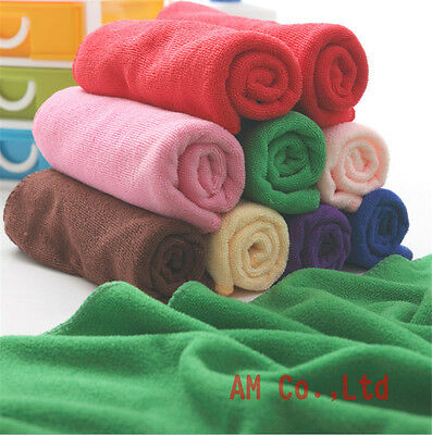 Wholesale 100 Car home Microfiber Cleaning Towel Wahsing Hand Towels Wash
