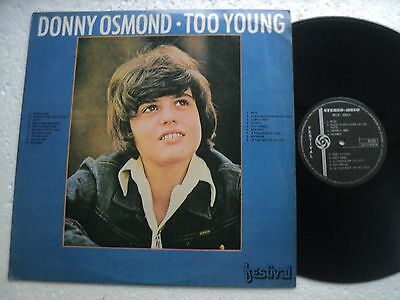 The Osmonds / Donny Osmond - Too young - Rare Hong Kong only release LP