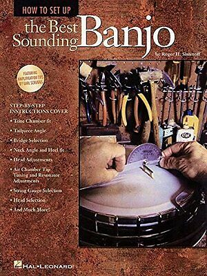 How to Set Up the Best Sounding Banjo New Paperback Book Roger H. Siminoff