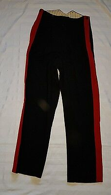 Mens Industrie Military Pants In Red And Black Size 25 Pickwick Productions
