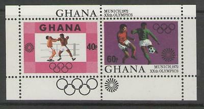 Ghana Sgms645 1972 Olympic Games Mnh