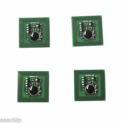 4 x DRUM Chip for Xerox 4110 4112 4127 4590 4595 4110EPS (013R00646 / 013R00653)