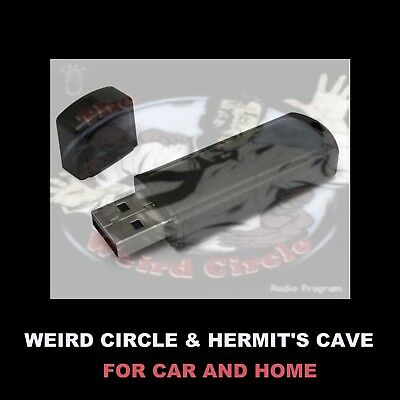 Weird Circle And Hermit's Cave. Enjoy Old-Time Radio Horror In Your Car Or Home