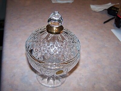 CRISTAL D'ARQUES LEAD CRYSTAL GARANTI MADE IN FRANCE Covered Dish