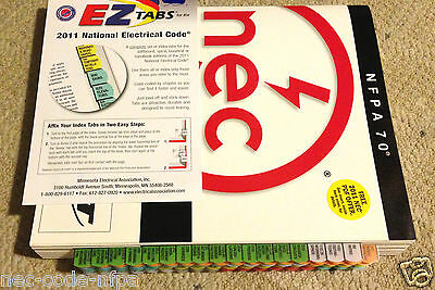 2011 NEC NFPA 70 National Electrical Code Book w/ EZ Tabbed** ~NEW
