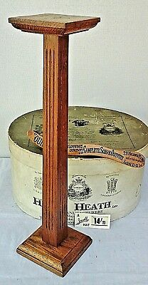 Original Art Deco, Wooden Hat Stand, Millinery Shop Display.