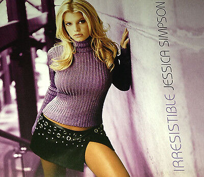 Jessica Simpson Irresistible CD Single Rare 2001 So So Def Remixes Lil Bow Wow