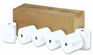 Thermal Printer Rolls 17.5mm Core 44x80mm Ref TH281 [Pack 20]