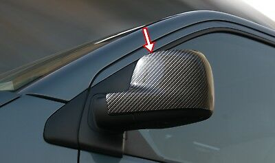 Carbon Fiber Abs Mirror Cover 2 Pcs New Brand Lhd Fit Vw Caddy 2003-2014