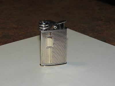 Evans tall banner lighter with windguard RARE