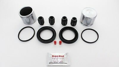 FRONT Brake Caliper Repair seal Kit Pistons for Honda S2000 1999-2014 (BRKP23)