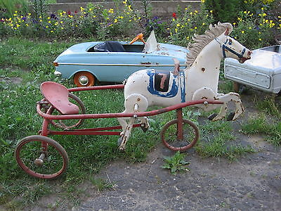 Horse pedal the USSR car original  , Russian Soviet toy dream of many children