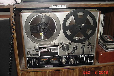 AKAI 4000DB REEL TO REEL TAPE RECORDER DECK excellant condition works great