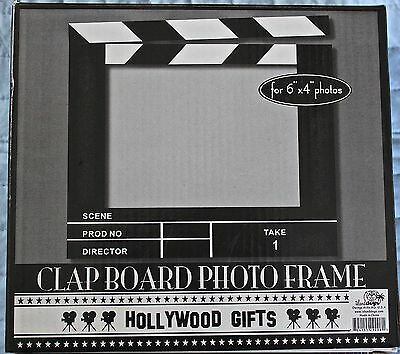 Acrylic Photo Picture Frame Hollywood Movie Scene Director Film 6 X 4