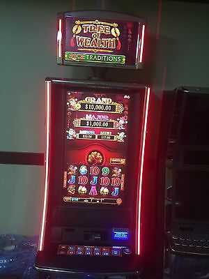 WMS/Bally Alpha 2 Pro TREE OF WEALTH V32 SLOT MACHINE.