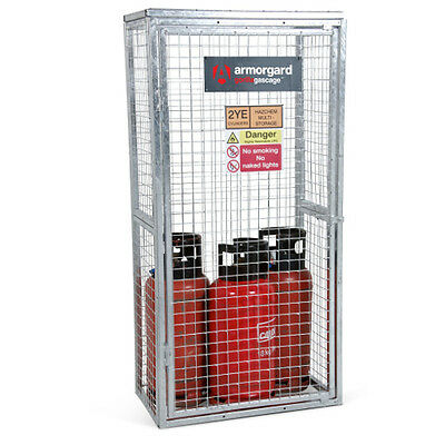 Armorgard GGC3 Gorilla Gas Cage (900 x 500 x 1800) Secure Gas Bottle Storage
