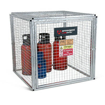 Armorgard GGC4 Gorilla Gas Cage (1200 x 1200 x 1200) Secure Gas Bottle Storage