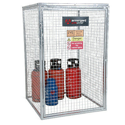 Armorgard GGC6 Gorilla Gas Cage (1200 x 1200 x 1800) Secure Gas Bottle Storage