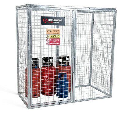 Armorgard GGC7 Gorilla Gas Cage (1800 x 900 x 1800) Secure Gas Bottle Storage