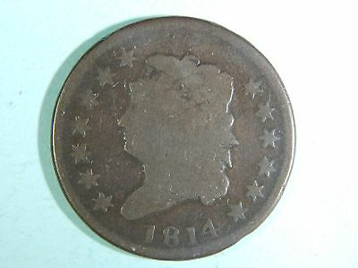 1814 United States Classic Head Large Cent