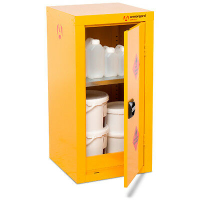 Armorgard SafeStor HFC4 Hazardous Chemical Cupboard (450 x 465 x 905) Incl VAT