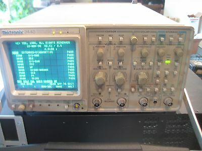 Tektronix 2440 Digital Oscilloscope, 300 MHz, 500MS/s, 2CH