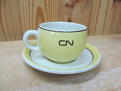 Hotelware Grindley Duraline CNR  64 – Railroad? Cup Saucer