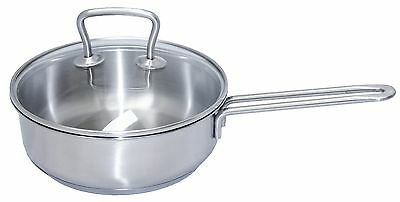 Stainless Steel 2.1 Litre Deep Frypan w/Handle