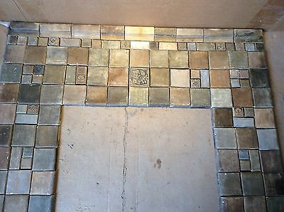 Batchelder Arts & Crafts Fireplace Tiles Antique California Mission Greuby Tile