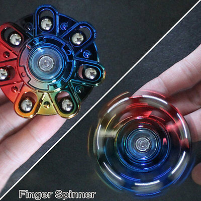 2017 EDC Fidget Metal Hand Spinner Focus ADHD stress Autism Finger Toy Gyro New