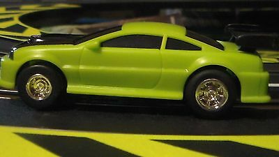 ARTIN 1/43 SLOT CAR Please understand this is a (Power Passer) HOT GREEN  (NEW)