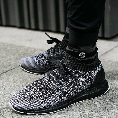 0ca9413131530 ADIDAS ULTRA BOOST Uncaged Black Mens Shoes Size 12 Boost Ultraboost ...
