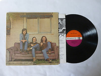 Crosby Stills & Nash ~ S/t Debut ~ 588189 ~ Vg/vg ~ 1969 Uk 1St Press Vinyl Lp