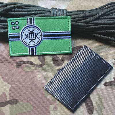1PC Kekistan KEK Flag Viking Army Military Badge Embroidery Badge  LOOP Patches