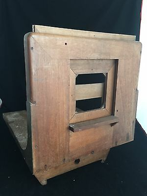 Support Camera Antique Wood Door Collection Vintage Photographer Blown
