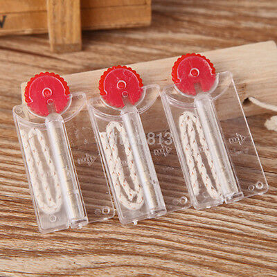 New 2pcs Flints and Cotton Core Replacement in Dispenser for Lighter CA