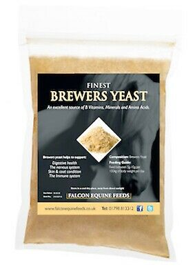 Brewers Yeast 3kg - Support for Digestive, Immune & Nervous System, Skin & Coat
