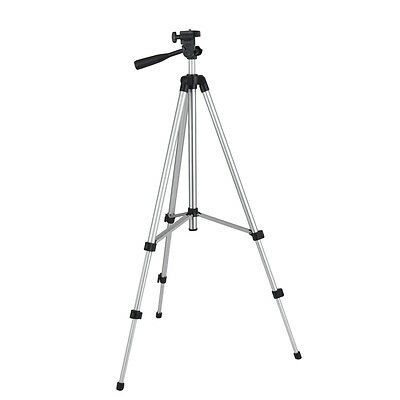 Aluminum Camera Tripod with Adjustable-Height Legs for Phone, DSLR Cameras etc