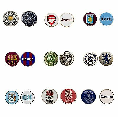 Various Football Club Golf Ball Marker (Buy 3 Get 1 Free)