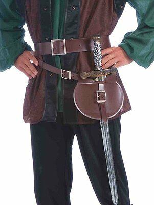 Medieval Belt And Sword Adult Costume Accessory